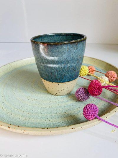 almindelig kop gråblå
