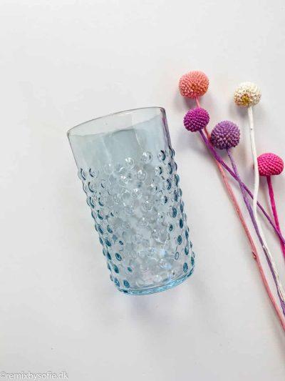 Pindsvineglas i lyseblå (babyblue)