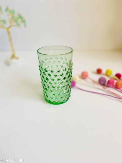 Pindsvineglas i lysegrøn