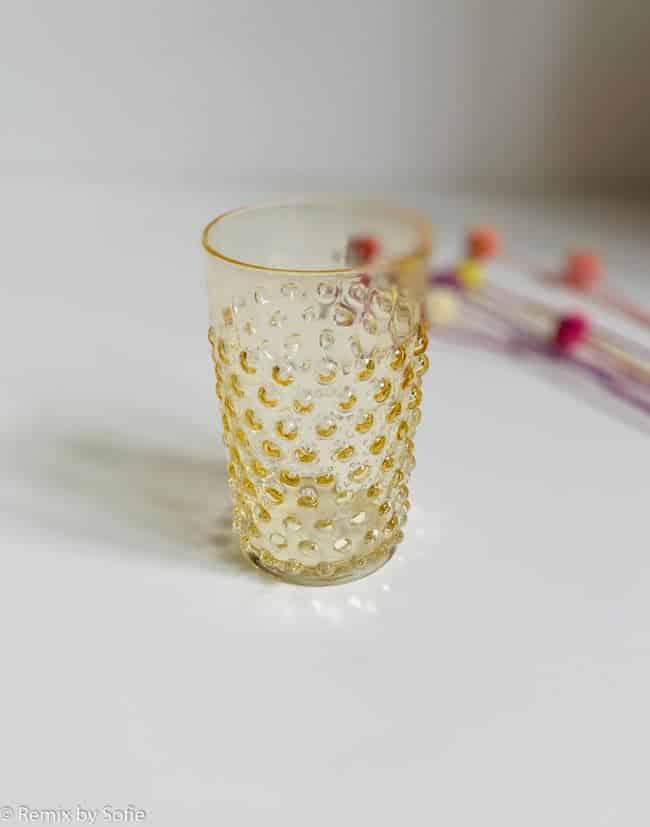 anna von lipa, anna von lipa pindsvine glas, pindsvineglas, vandglas, drikkeglas, glas i pindsvineglas