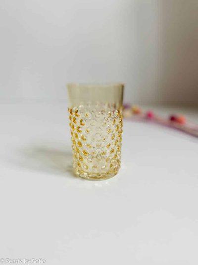 pindsvine glas lys amber