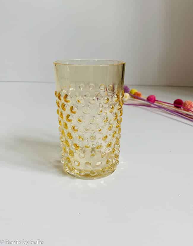 anna von lipa, anna von lipa pindsvine glas, pindsvineglas, vandglas, drikkeglas, glas i pindsvineglaspindsvine glas lys amber