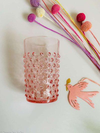 pindsvineglas i rosa