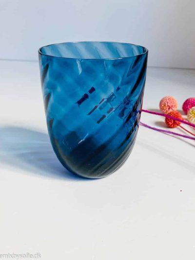 anna von lipa swirl glas i blue ink