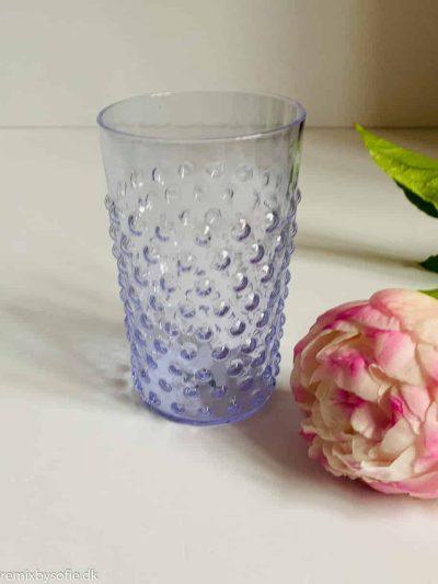 anna von lipa pindsvine glas i syren lilla