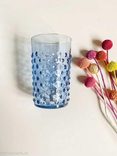 anna von lipa pindesvine glas lyseblå