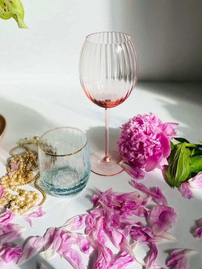bambusvinglas, vinglas, hvidvinsglas, mundblæst hvidvinsglas, anna von lipa