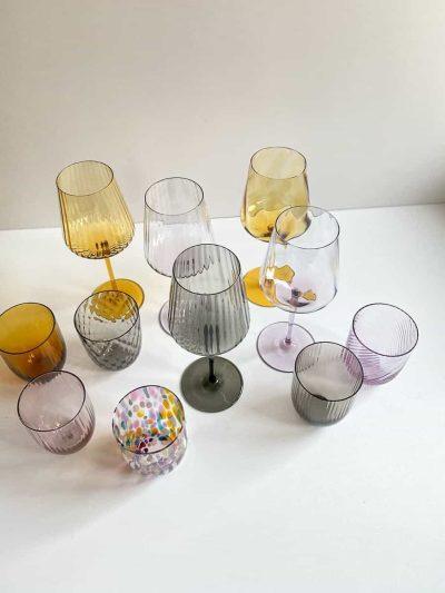 Remix by sofie, vinglas, rødvinsglas,