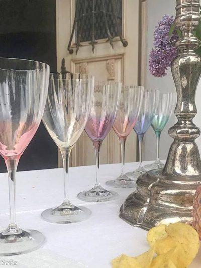 kate hvidvins glas, vinglas, krystalglas, kate hvidvin
