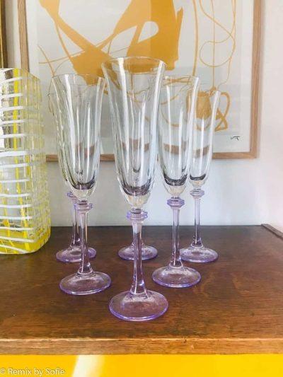 champagneglas, champagnefløjter