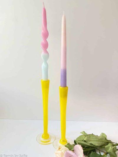 mundblæste lysestager, mundblæst glas, anne florh, mundblæste lysestager, lysestage, glaslysestage, candleholders, candle sticks, glas lysestage