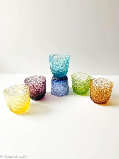 mundblæst glas, glas fra IVV, italienske glas, glas fra firenze,