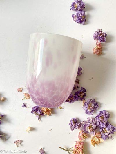 mundblæst glas, confetti, farvet glas, opal glas, opalglas,bordækning,anna von lipa mix & match, swil glas, wawe glas, harlekin glas, tumbler, vand glas, drikkeglas, drinking glass