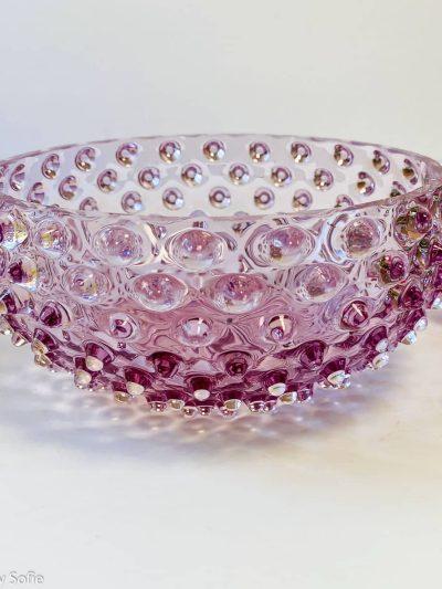anna von lipa pindsvinie skål, skål i pindsvine glas, pindsvineglas, pindsvineskål,