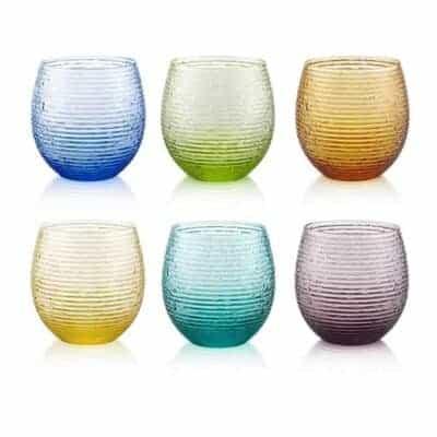 multicolor, italienske glas, mundblæst glas,