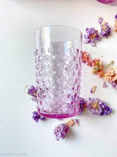 anna von lipa pindsvine vandglas glas, anna von lipa, anna von lipa pindsvine glas, pindsvineglas, vandglas, drikkeglas, glas i pindsvineglas