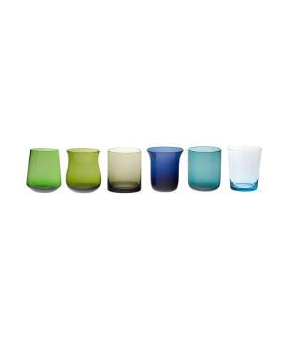mundblæste vandglas, italienske vandglas, tumblere, mundblæste tumblere, handblown, glasses italy, italienske glas