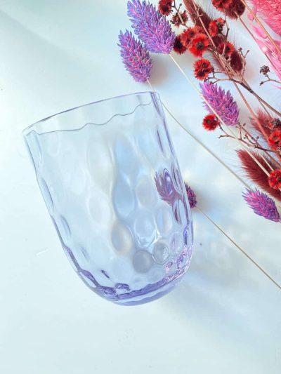 olive glas, anna von lipa mix & match, swil glas, wawe glas, harlekin glas, tumbler, vand glas, drikkeglas, drinking glass, farvet glas, boliginteriør, borddækning, glas fra anna von lipa