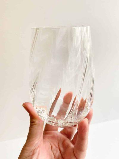 anna von lipa hekla mundblæst glas, tumbler, vandglas, drikkeglas, clara glasset