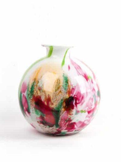mundblæst glas, opalglas, opaline, farvet glas, vase, blomstervase, vase for flower, flower vase, vases