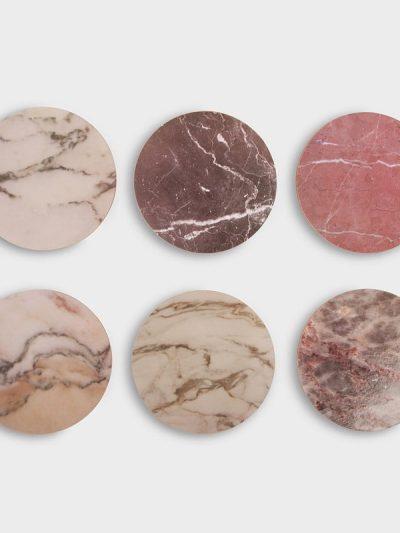 remix by sofie, coasters, marmor, marmorprint, borddækning, cork,