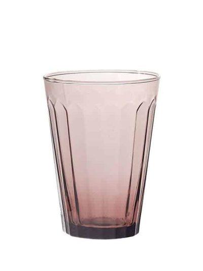 Remix by sofie, glas, vandglas, italiensk glas, mundblæst, mundblæst glas, mundblæst vandglas, lilla,