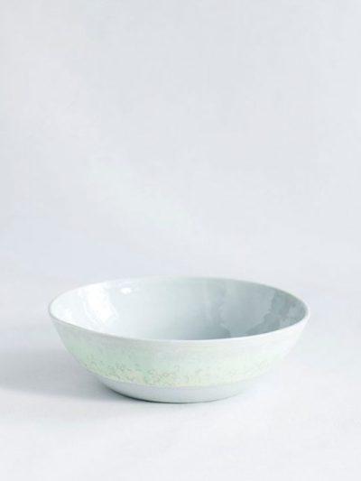 lena pedersen, remix by sofie, skål, håndlavet skål, håndlavet keramik, keramik, krystalglasur, pastel skål, lav skål,