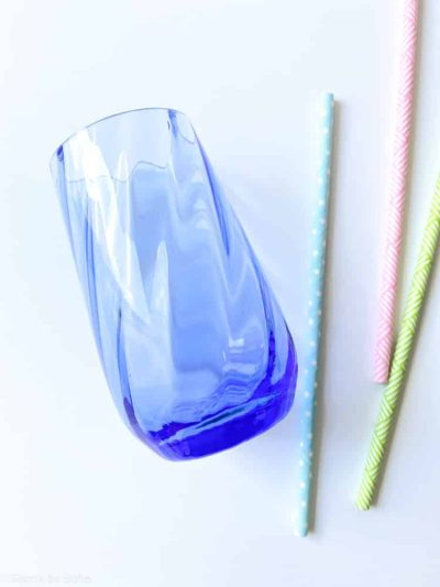 swirl, kongeblå, anna von lipa, anna von lipa glas, hekla glas, remix by sofie, drikkeglas, vandglas, vand glas