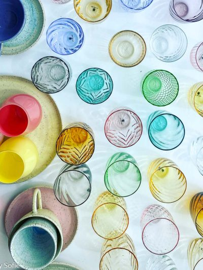 Blandede glas