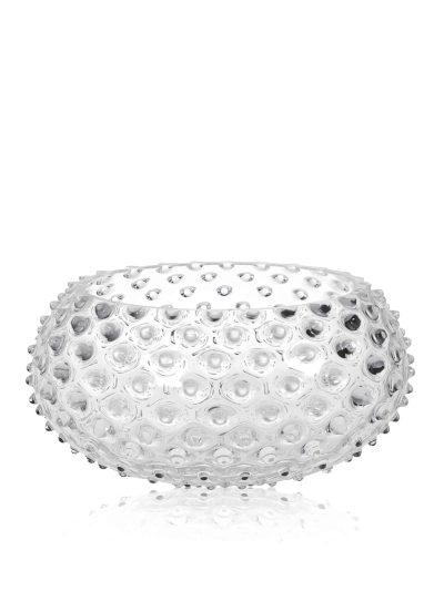skål, anna von lipa, anna von lipa glas, skål, frugt skål, skål i mundblæst glas, handblown, hobnail bowl, remix by sofie