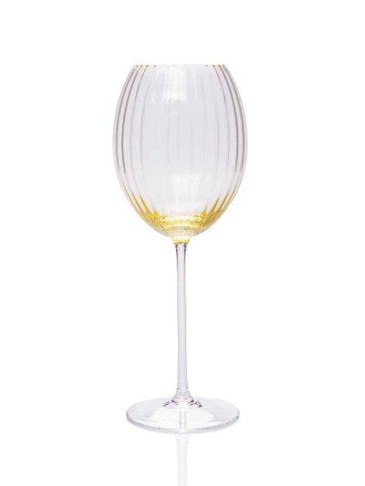 lyon ovalt vinglas, gult vinglas, bordækning, mundblæst glas, handblown wineglass, bordækning, roseglas