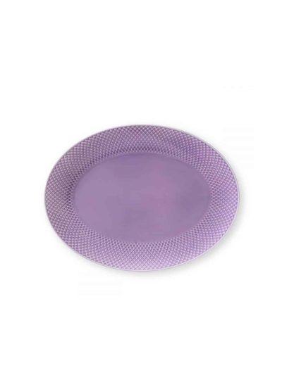 remix by sofie, lyngby porcelæn, rhombe, rhombe fad, ovalt fad, rhombe ovalt fad,