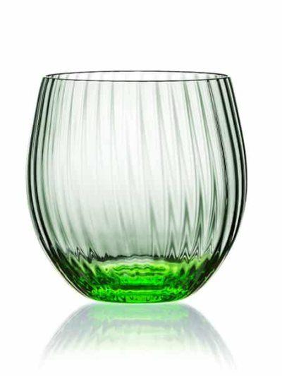 remix sjusglas lysegrøn, mundblæst glas, tethys, vand glas, drikke glas, drinks glas