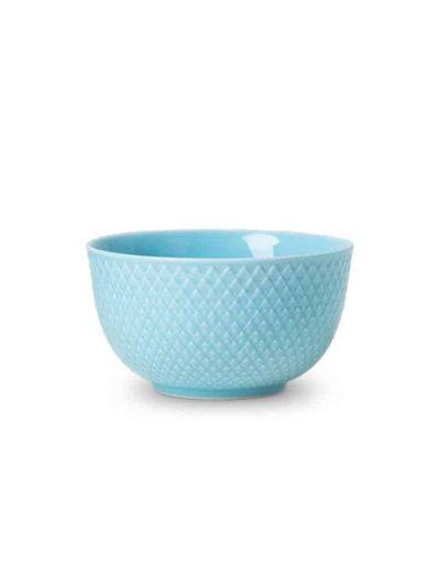 remix by sofie, lyngby porcelæn, rhombe, rhombe skål, skål, turkis skål
