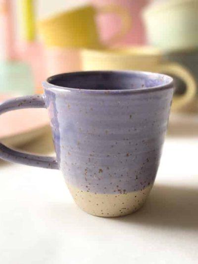 krus med hank lilla, kop, krus, ember keramik, émber keramik, remix by Sofie